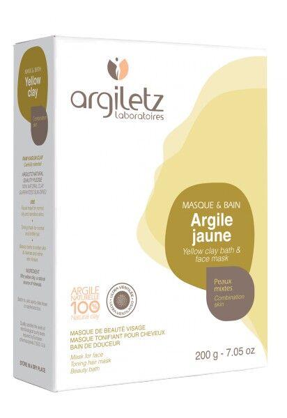 """Eyeslipsface """"Argile jaune ultra ventilée -200g - ARGILETZ (01821065) 200"""""""