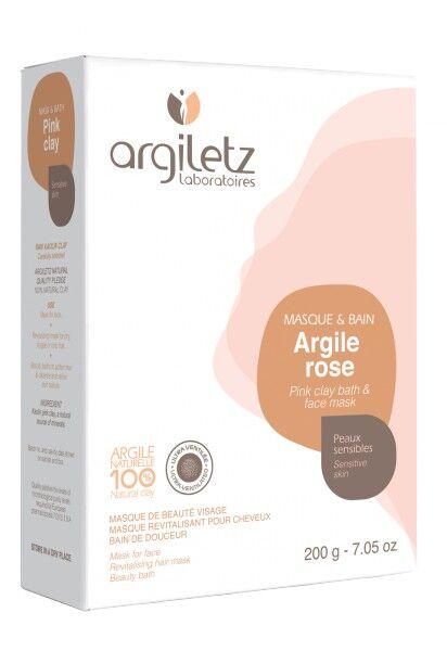 """Eyeslipsface """"Argile rose ultra ventilée-200g - ARGILETZ (01821070) 200"""""""