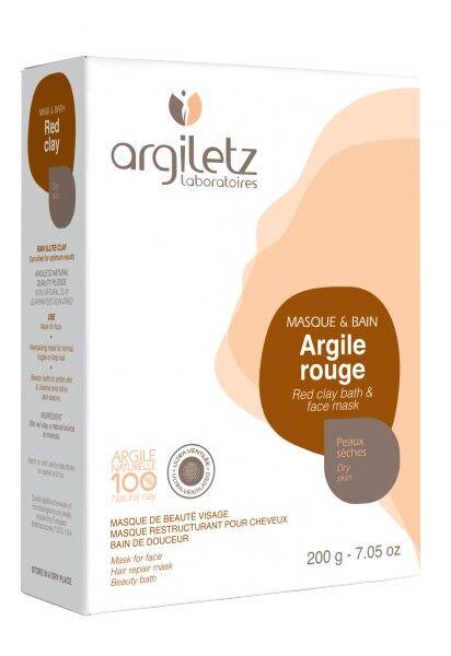 """Eyeslipsface """"Argile rouge ultra ventilée-200g - ARGILETZ (01821060) 200"""""""