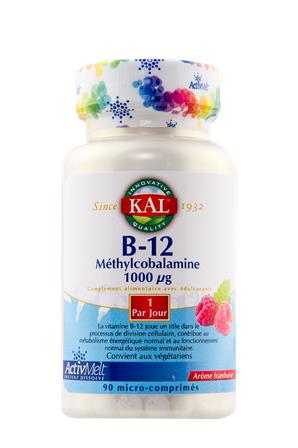 """Eyeslipsface """"Vitamine B12 - SOLARAY / KAL (0000) 90"""""""