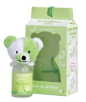 """Eyeslipsface """"Eau de senteur Mixte - Baby green- 100ml - ALPHANOVA (0000) 100"""""""