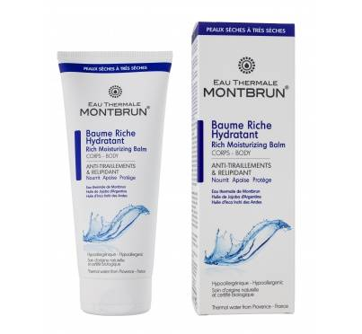 """Eyeslipsface """"Baume riche hydratant corps Bio - EAU THERMALE MONTBRUN (17831030) 200"""""""