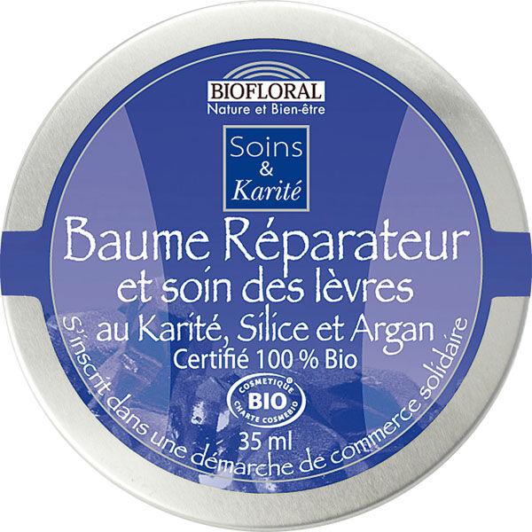 """Eyeslipsface """"Baume Réparateur et Soin des lèvres - Kartié, Silice et Argan - BIOFLORAL (105 30 040) 35"""""""
