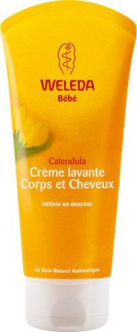 """Eyeslipsface """"Bébé - Crème lavante Corps et Cheveux - WELEDA (4.9394) 200"""""""