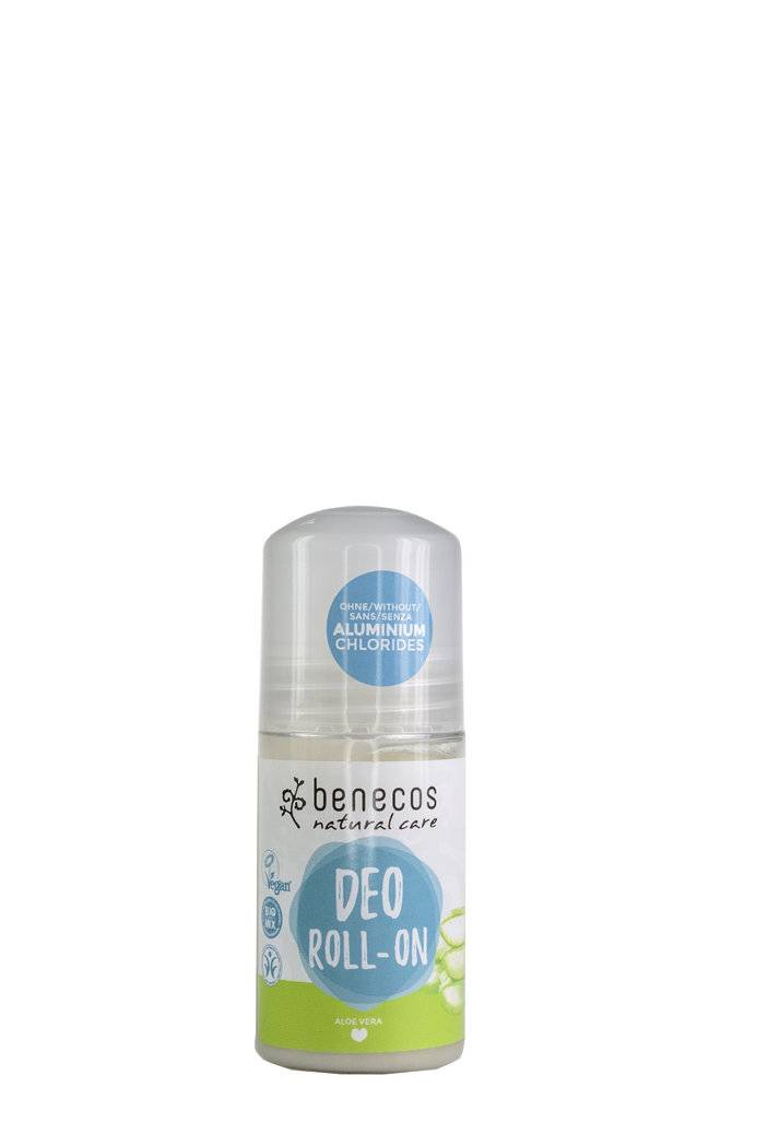 "Eyeslipsface ""Déodorant Aloe Vera BIO Roll-on 50 ml-BENECOS (228 31 030) 50"""