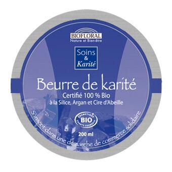 """Eyeslipsface """"Baume Réparateur Karité, Silice et Argan - BIOFLORAL (105 30 030) 200"""""""