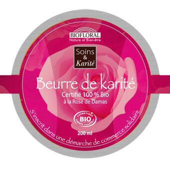 """Eyeslipsface """"Baume Réparateur Adoucissant Karité, Argan et Rose de Damas - BIOFLORAL (105 30 042) 35"""""""