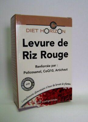 "Eyeslipsface ""Levure de riz rouge -60 comprimés -DIET HORIZON (17.3222) 60"""