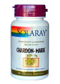 "Eyeslipsface ""Chardon-Marie - 175 mg Standardisé à 80% de Silymarine - SOLARAY (0000) 60"""