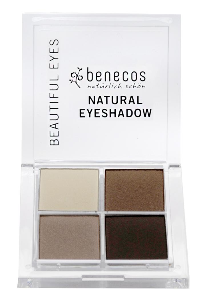 """Eyeslipsface """"Ombres 4 couleurs Camaïeu de marron (Coffee & Cream) BIO - BENECOS (228 41 161) 8"""""""