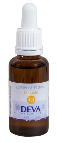"""Eyeslipsface """"Fleurs de Bach - Maturité - Composé floral n°13 - 30 ml -DEVA (12.0853) 30"""""""