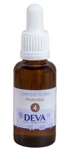 "Eyeslipsface ""Fleurs de Bach - Protection - Composé floral n° 4 - 30 ml - DEVA (12.7500) 30"""