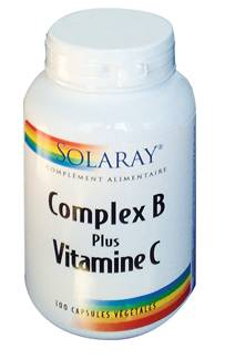 "Eyeslipsface ""Complex B Plus Vitamine C - SOLARAY (0000) 100"""