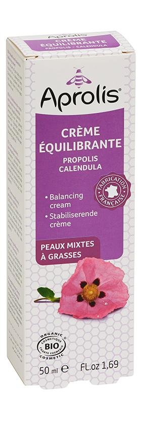 """Eyeslipsface """"Crème équilibrante : propolis, calendula- 50ml - APROLIS (13730010) 50"""""""