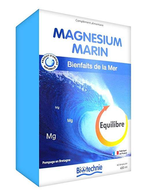 """Eyeslipsface """"Cure Magnésium Marin 40 ampoules - BIOTECHNIE (02613020) 40"""""""