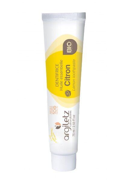 """Eyeslipsface """"Dentifrice citron Bio-75ml - ARGILETZ (01834020) 75"""""""