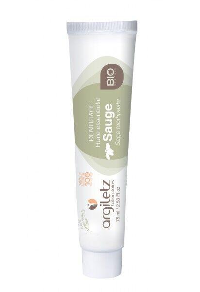 """Eyeslipsface """"Dentifrice sauge Bio-75ml - ARGILETZ (01834030) 75"""""""