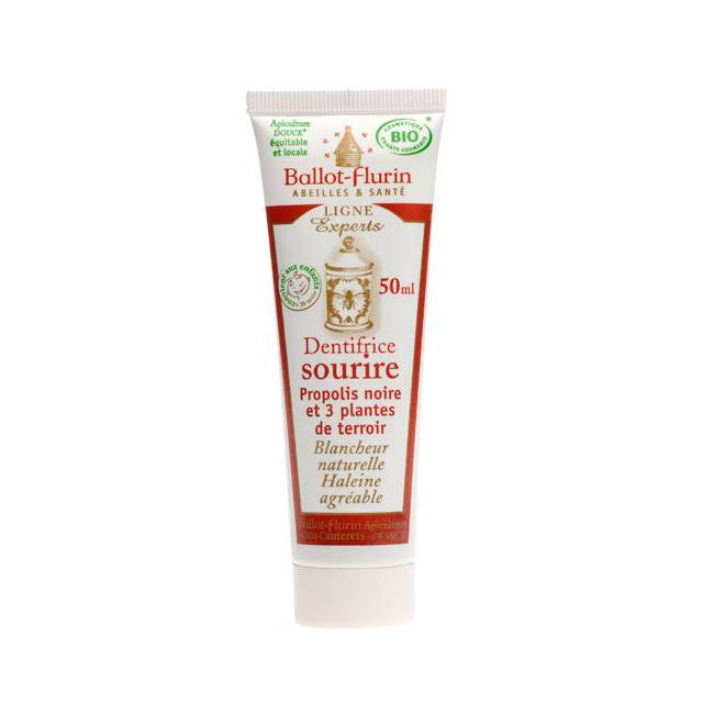 "Eyeslipsface ""Dentifrice Sourire - Tube 50ml - BALLOT FLURIN (03134020) 50"""