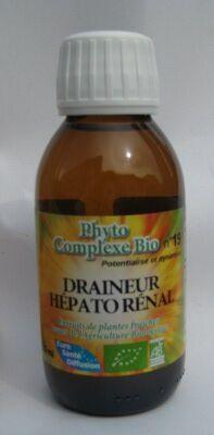 """Eyeslipsface """"Draineur Hépato-rénal Bio n°19 - 125 ml - ESD / PHYTOFRANCE (12.0047) 125"""""""