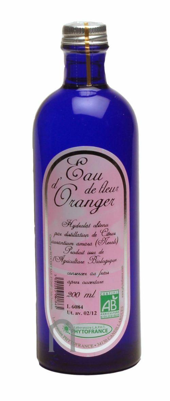 "Eyeslipsface ""Eau florale (hydrolat) de Fleur d'oranger BIO - 200 ml - ESD / PHYTOFRANCE (7.5335) 200"""