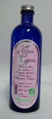 """Eyeslipsface """"Eau florale (hydrolat) de Cyprès BIO - 200 ml - ESD / PHYTOFRANCE (5.1881) 200"""""""