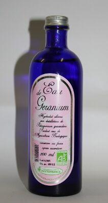 "Eyeslipsface ""Eau florale (hydrolat) de Géranium bourbon - 200 ml - ESD / PHYTOFRANCE (7.0094) 200"""