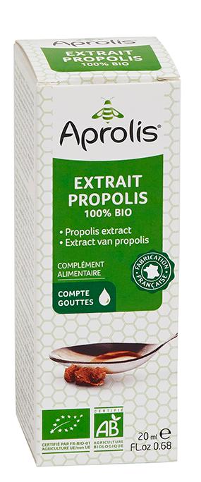"Eyeslipsface ""Extrait de propolis 100% Bio- 20ml - APROLIS (13709027) 20"""