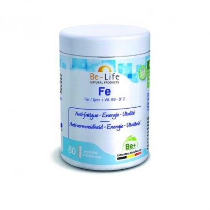 "Eyeslipsface ""Fe (B9+B12) 60 gélules – BE-LIFE (27013018) 60"""