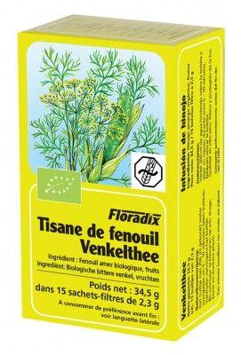 "Eyeslipsface ""Tisane Fenouil -15 sachets -SALUS (2.8199) 15"""