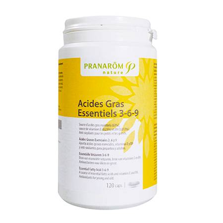 "Eyeslipsface ""Acide gras essentiels 3 - 6 - 9 - PRANARÔM (0000) 120"""
