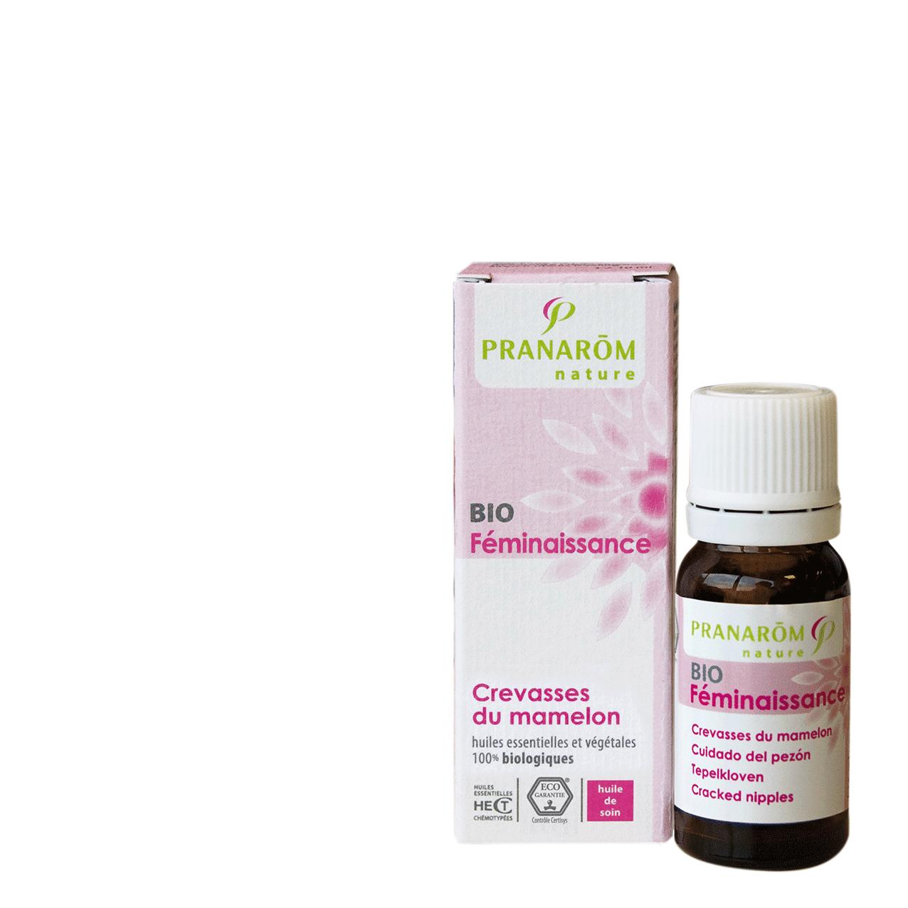 "Eyeslipsface ""Féminaissance - Après l'accouchement - Crevasses du mamelon BIO- 5ml - PRANARÔM (0000) 5"""