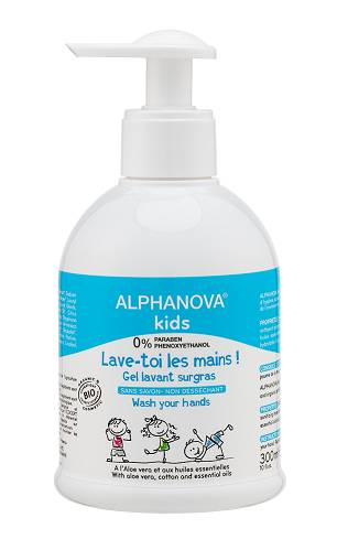 Eyeslipsface 'Lave toi les mains Bio- 300ml -ALPHANOVA (0000) 300'