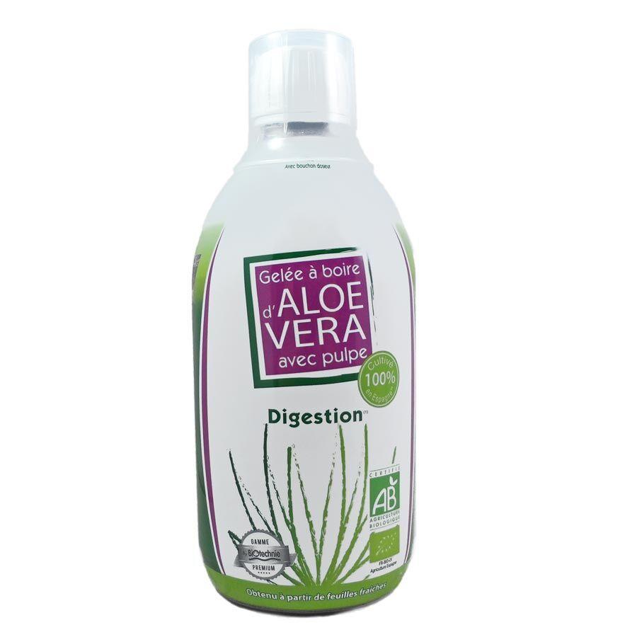 "Eyeslipsface ""Gelée à boire Aloe Vera digestion BIO - BIOTECHNIE 500 ml (02607004) 500"""