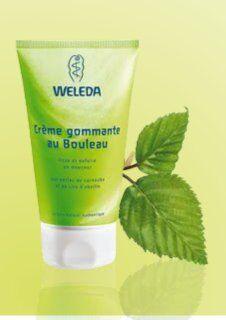 """Eyeslipsface """"Crème Gommante au Bouleau- 150 ml - WELEDA (7.2491) 150"""""""