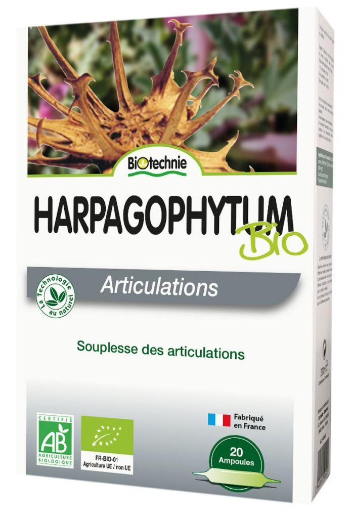 "Eyeslipsface ""Harpagophytum BIO 20 ampoules - BIOTECHNIE (01002540) 20"""