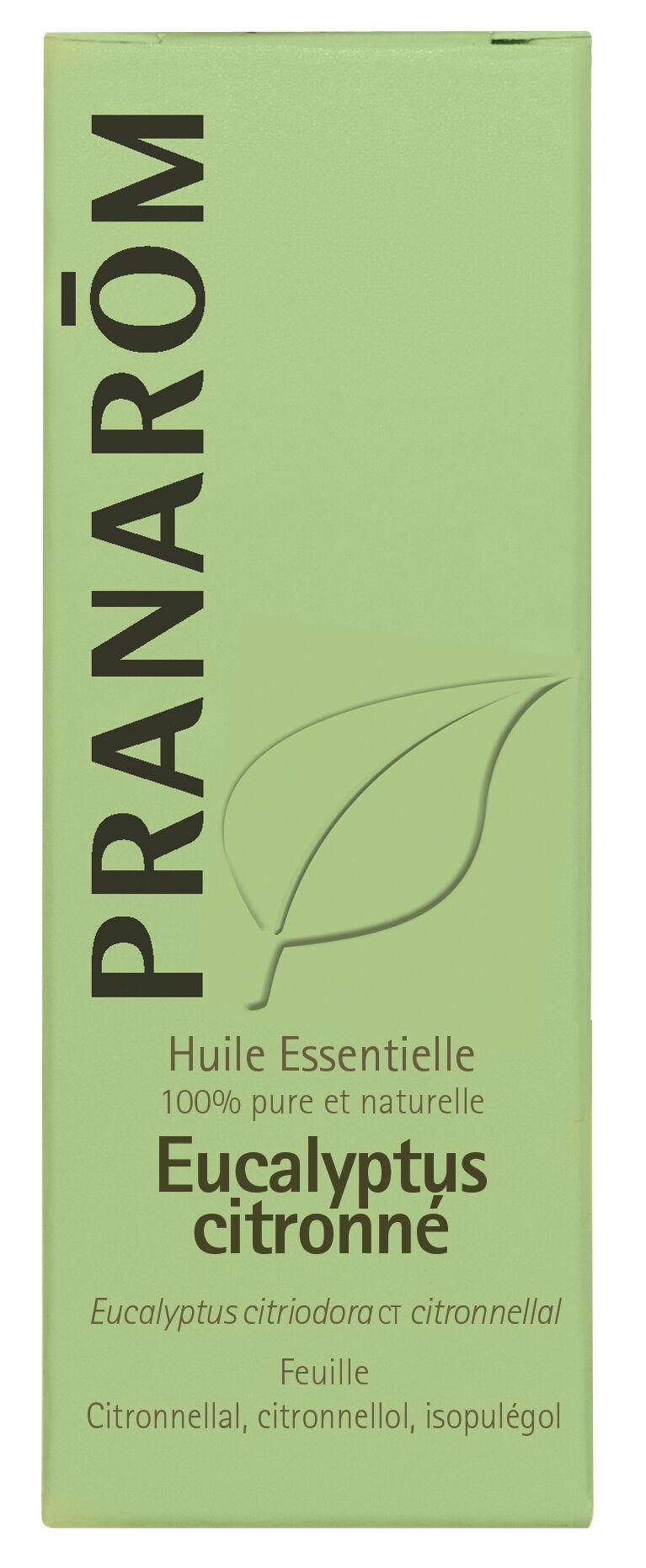 "Eyeslipsface ""Huile essentielle Eucalyptus citronné 10 ml -PRANARÔM (0000) 10"""