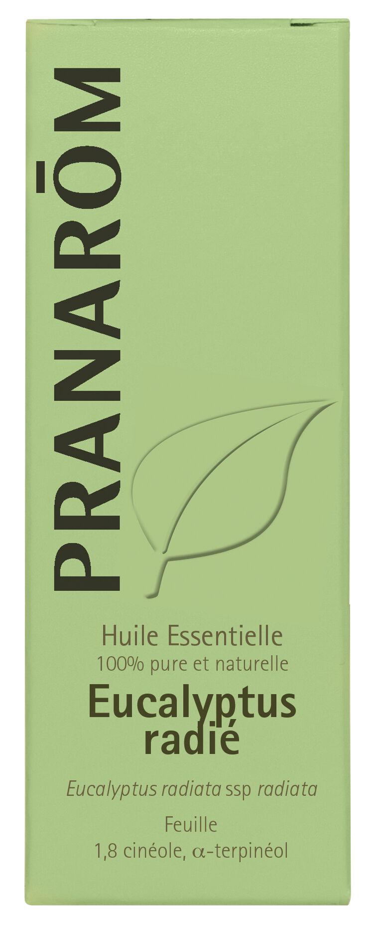 "Eyeslipsface ""Huile essentielle Eucalyptus radié 10 ml -PRANARÔM (30218042) 10"""