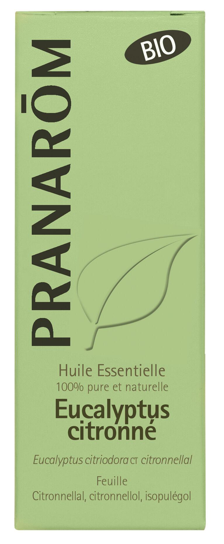 "Eyeslipsface ""Huile essentielle Eucalyptus citronné Bio 10 ml -PRANARÔM (04624071) 10"""