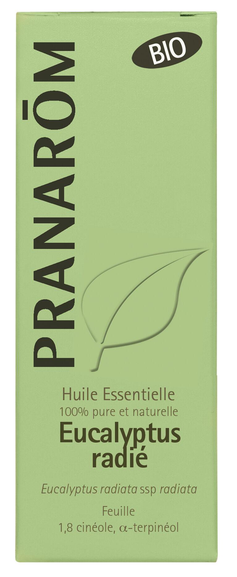 "Eyeslipsface ""Huile essentielle Eucalyptus radié Bio 10 ml -PRANARÔM (4.7535) 10"""