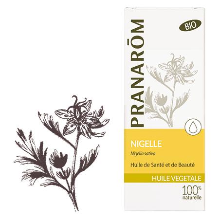 """Eyeslipsface """"Huile végétale Nigelle bio - 50 ml - PRANARÔM (5.7204) 50"""""""