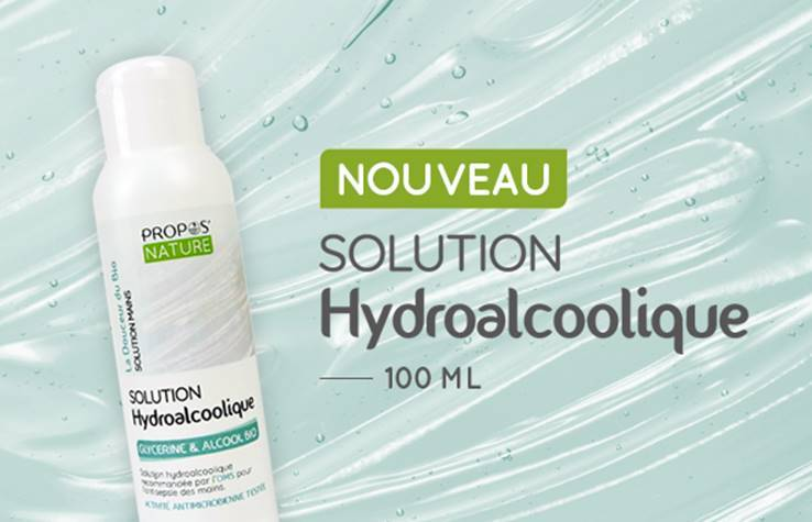 "Eyeslipsface ""Solution hydroalcoolique Bio - 100 ml - PROPOS NATURE (PROPOS001) 100"""