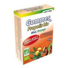 """Eyeslipsface """"Gommes de Propolis Miel, Orange bio - PROPOS NATURE (0000) 45"""""""
