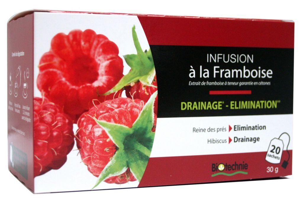 "Eyeslipsface ""Infusions Cétones de Framboises 20 sachets – BIOTECHNIE (010 10 758) 20"""