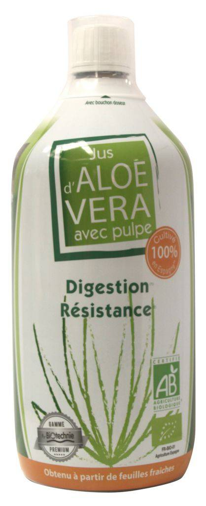 "Eyeslipsface ""Jus Aloe Vera BIO 1 litre - BIOTECHNIE (02607001) 1"""