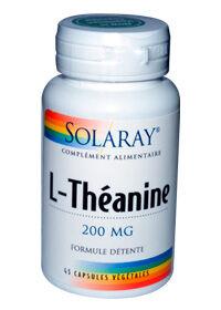 "Eyeslipsface ""L-Théanine - 200 mg -SOLARAY (0000) 45"""