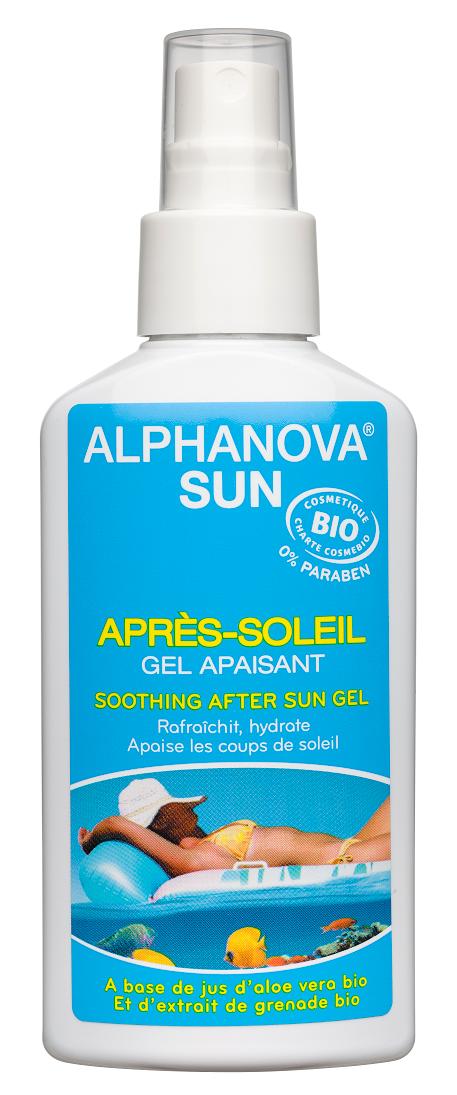 "Eyeslipsface ""Sun Après soleil aloé Grenade Bio- 125g -ALPHANOVA (0000) 125"""