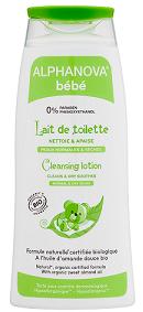 """Eyeslipsface """"Lait de toilette naturel Bébé Bio - 200 ml -ALPHANOVA (17838002) 200"""""""