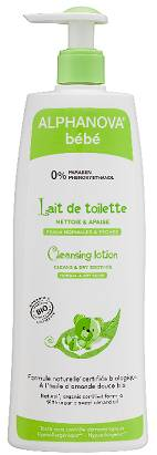 "Eyeslipsface ""Lait de toilette naturel Bébé Bio - 500 ml -ALPHANOVA (17838004) 500"""