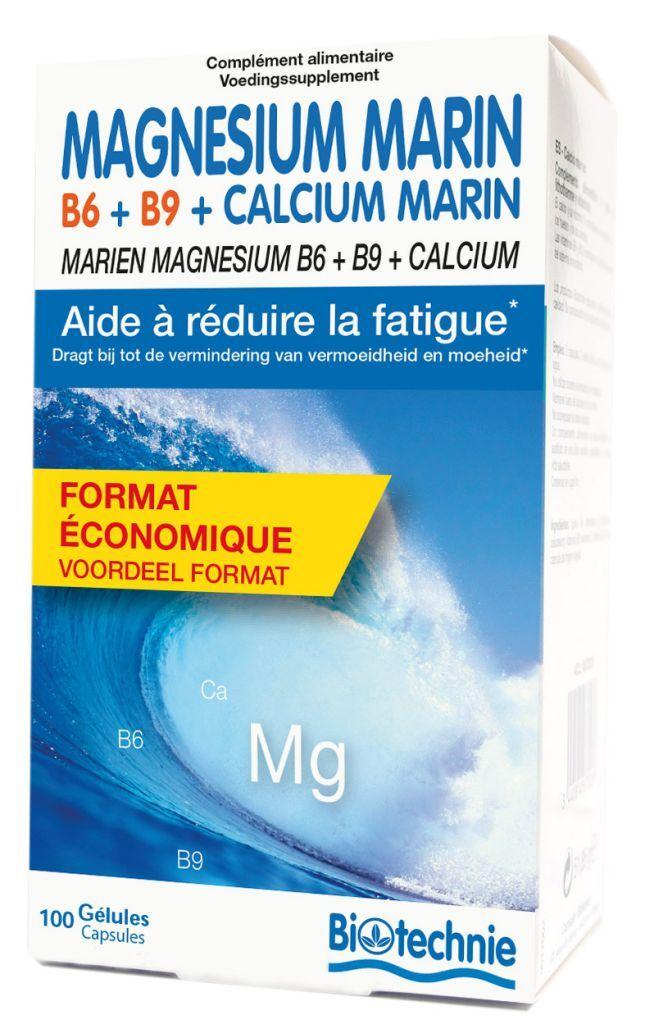 "Eyeslipsface ""Magnésium Marin B6 100 gélules - BIOTECHNIE (02613175) 100"""