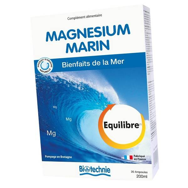 "Eyeslipsface ""Magnésium Marin B6 20 ampoules - BIOTECHNIE (02613180) 20"""